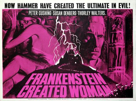 frankenstein cw poster