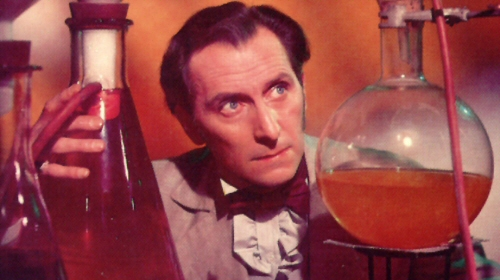 peter cushing curse frankenstein