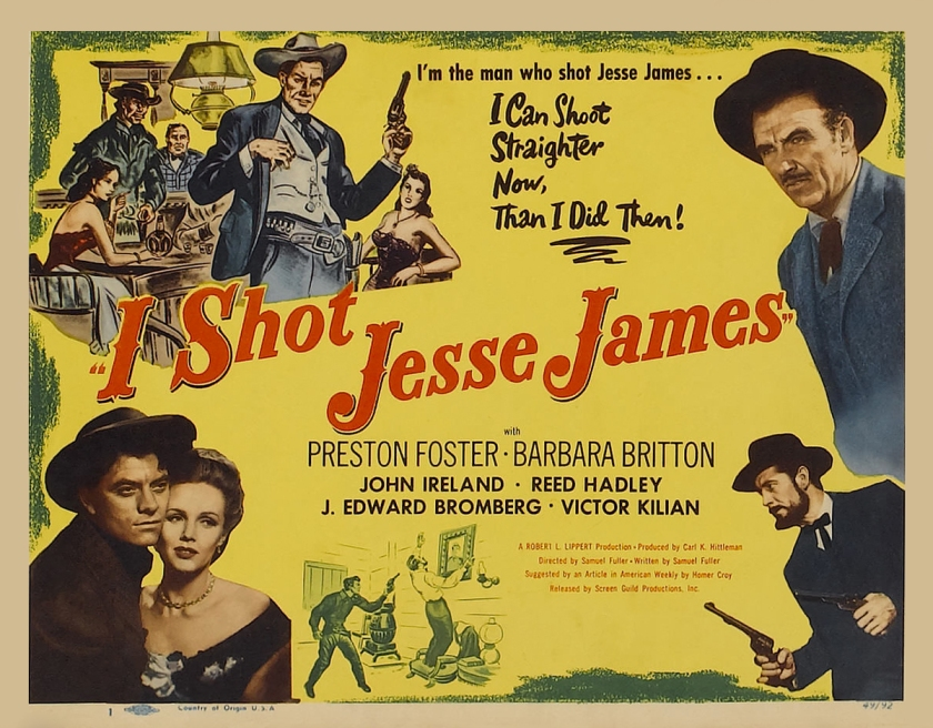 Image result for I Shot Jesse James